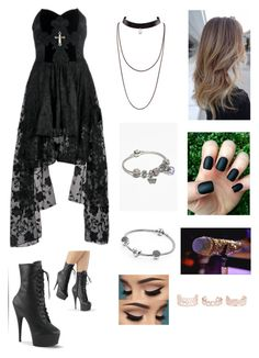 """Untitled #737"" by catrinel-grigorescu on Polyvore featuring Pandora and New Look"