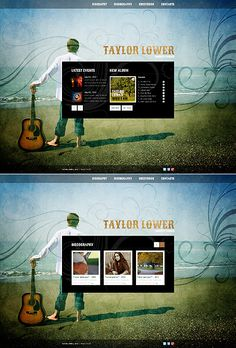 Design gets time... Get Template Espresso! That's JavaScript Based #template // Regular price: $60 // Unique price: $3700 // Sources available: .HTML,  .PSD #JavaScript #Responsive #Music #Singer