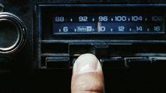 Car radio buttons