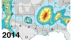 Danger in the Heartland: Man-Made Quakes Mark New Hazard Map - weather.com