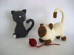Ravelry: Kitten Amigurumi Crochet Pattern pattern by Amy Gaines