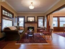 Craftsman Living Room, built 1916.