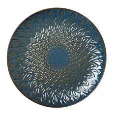 Tallerken Ester 27 cm Blå - Porselen - Rusta.com Decorative Plates, Tableware, Dinnerware, Tablewares, Dishes, Place Settings