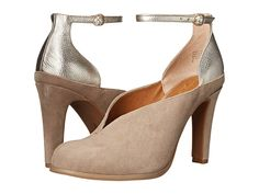 SEYCHELLES SEYCHELLES - FLUTE (CLAY SUEDE) HIGH HEELS. #seychelles #shoes #