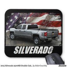 2015 Silverado 2500HD Double Cab LT Long Box Mouse Pad