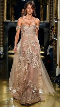 Sexy Evening Dresses Zuhair Murad Off Shoulder Chiffion Lace Applique Champagne Celebrity Dresses Evening Gowns Sexy Evening Dress, Evening Dresses, Prom Dresses, Formal Dresses, Wedding Dresses, Dresses 2013, Lace Dresses, Pageant Gowns, Dress Prom