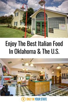 This local, family-owned restaurant in Oklahoma has history and some of the best Italian food in America. Enjoy plenty of pasta, delicious desserts, and more.
