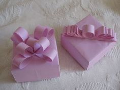 The Bride's Diary - DIY: Origami Gift Box