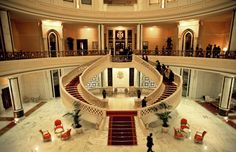 Presidential Palace of Turkmenistan - Main lobby