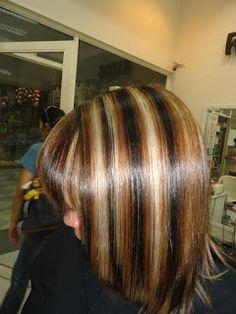 1000 images about hair style hair color hair cut cabello corte y color on pinterest - Como darse mechas en casa ...