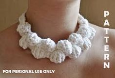 Image result for crochet jewelry free patterns