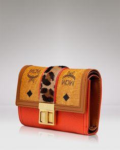 MCM Wallet - Little Veronika Flap - Premium Designers - Boutiques - Handbags - Bloomingdale's
