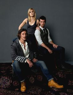 Audrey Parker, Nathan Wuornos & Duke Crocker (Syfy's Haven) played by Emily Rose, Lucas Bryant and Eric Balfour