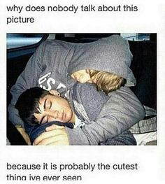 Aww crap now Liam's in on the whole sleeping anywhere thing! They. Are. Trying. To. Kill. Me. -Sel