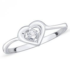 Silver colour and attractive American diamond finger ring. Diamond Finger Ring, Ring Finger, Silver Color, Party Wear, Heart Ring, Special Occasion, Engagement Rings, Colour, Sterling Silver