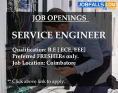 core jobs for ece freshers in coimbatore