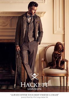 """- Horses - Books - Hounds - Tweed - ______________________________________________________________________________ """"The gentleman falls in love with his dogs and horses, and out of love with everything else. English Gentleman, Gentleman Style, True Gentleman, Preppy Mens Fashion, Mens Fashion Suits, English Men, English Style, British Country Style, Bcbg"""