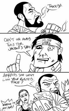 Jax vs Takeda Intro by Koldoom