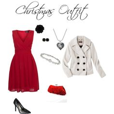 """""""Christmas Party Outfit"""" by noelle-joy on Polyvore"""
