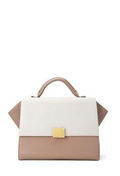 Buckled Faux Leather Satchel #Accessories #Handbag - http://AmericasMall.com/categories/juniors-teens.html