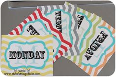 ACQUIRED  #freeprintable  Daily tags