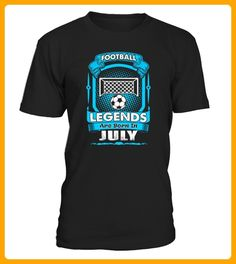 Football Legends Are Born In July Tshirt TShirts - Foto shirts (*Partner-Link)