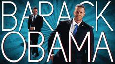 Barack Obama in (Epic Rap Battles of History) XD