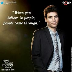 Himym quotes - Ted quotes need this Movies Showing, Movies And Tv Shows, Ted Quotes, How Met Your Mother, Ted Mosby, Tv Show Quotes, Film Quotes, When You Believe, Himym