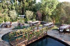 Event Design + Planning: In the Now Weddings and Events - inthenowweddings.com/ Photography: Jen Lauren Grant - jenlaurengrant.com Flowers: Honey and Poppies - http://www.stylemepretty.com/portfolio/honeyandpoppies   Read More on SMP: http://www.stylemepretty.com/2012/02/15/backyard-california-wedding-by-jen-lauren-grant/
