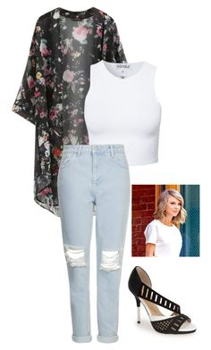 Untitled #114 by h-akther on Polyvore featuring Estradeur, Topshop, Chicnova Fashion and gx by Gwen Stefani