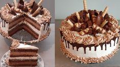 Chocolate Desserts, Chocolate Cake, Foods Dogs Can Eat, Baking Recipes, Dessert Recipes, Torta Recipe, Torte Recepti, Torte Cake, Cake Youtube