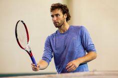 Foto: Gulbis trenējas Valmierā kopā ar jaunajiem tenisistiem – Citi sporta veidi – Sports Valmierā