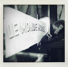 Fait main ! . . . . . @maksignspainter  #cocktail #leMondeModerne #MondeModerne #lille #bar