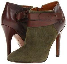 Nine West - Brettly (Dark Green/Brown Suede) - Footwear on shopstyle.com