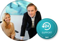 Abax support on all our product and system solutions.