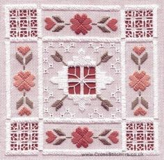 Advice for Beginner Hardanger Stitches Embroidery Designs, Crewel Embroidery Kits, Hardanger Embroidery, Types Of Embroidery, Embroidery Transfers, Learn Embroidery, Embroidery For Beginners, Vintage Embroidery, Embroidery Techniques