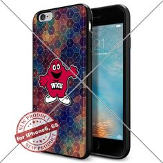 WADE CASE Western Kentucky Hilltoppers Logo NCAA Cool Apple iPhone6 6S Case #1705 Black Smartphone Case Cover Collector TPU Rubber [Circle] WADE CASE http://www.amazon.com/dp/B017J7PPWO/ref=cm_sw_r_pi_dp_ZfV9wb1D6CTCD