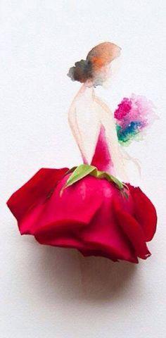 """Rose """"Flower Art"""""""