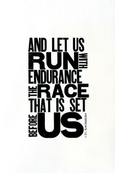 Running Themed Art, Black and White Letterpress Poster, Motivational Print for Runner, Religious Bible Verse, Gift for Runner Bible Quotes, Bible Verses, Motivational Quotes, Inspirational Quotes, Scriptures, Race Quotes, Bible Art, Faith Quotes, The Words