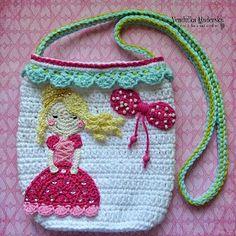 Crochet princess purse pattern