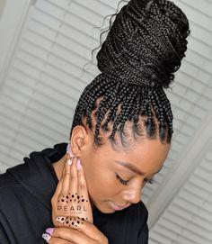 Black Girl Braided Hairstyles, Bandana Hairstyles, Baddie Hairstyles, Black Women Hairstyles, Natural Braided Hairstyles, Braids Hairstyles Pictures, African Braids Hairstyles, Hair Pictures, Braid Hairstyles