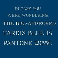 tardis blue | Tumblr; @Lori Bearden Bearden Bearden Lindsey Oh, Lori:) Need to repaint?