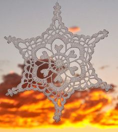 Century Sunrise snowflake
