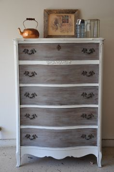Fab Rehab Creations: French Provincial Tall Boy Dresser