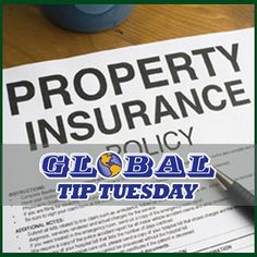 TIP TUESDAY: Will your property insurance cover you in an emergency??    Read our blog, featuring Insurance Agent Parish Lowrie, to make sure your property insurance coverage is the best option for you.  http://www.globalrestoration.us/information/articles-news/faq-for-property-insurance-coverage #PropertyInsurance #Home #Advice