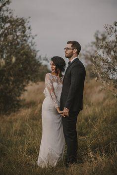 NANCY + RYAN // #wedding #realwedding #ceremony #reception #waihekeisland #newzealand #photographer #bride #groom #lace #ruedeseine