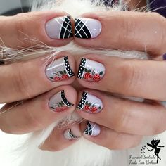 "164 Me gusta, 4 comentarios - Francieli Sedoski (@fransedoski) en Instagram: ""Andreza❤"" Pretty Short Nails, Pretty Nails, Sexy Nails, Love Nails, Nail Polish Designs, Nail Art Designs, Birthday Nails, Fabulous Nails, Nail Arts"