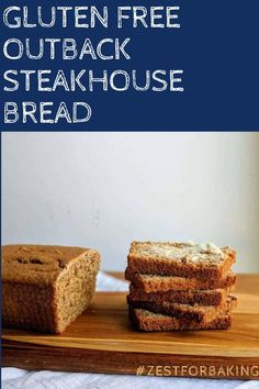 This tasty gluten free outback steakhouse bread is so good, you'll never guess it's gluten free! So tender and melt-in-your-mouth delicious! #zestforbaking #glutenfreebread #glutenfreerecipes #glutenfreebaking Gluten Free Quick Bread, Gluten Free Treats, Gluten Free Baking, Gluten Free Recipes, Bread Recipes, Yeast Bread, Bread Baking, Gluten Free Thanksgiving, Outback Steakhouse