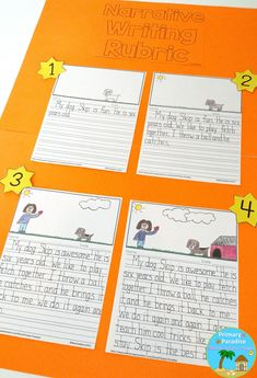 Struggling writers in your kindergarten, first grade, and second grade classrooms? Help them improve their writing with these visual writing rubrics! Perfect for informational, personal, and opinion writing!