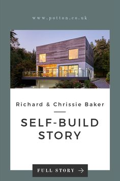 Building a home. Tips for building a house. Building a custom home. Cost of building a house Read Richard & Chrissie Baker Contemporary Self-Build adventure here . Building Structure, Building A House, Grow Home, Self Build Houses, Timber Cladding, Build Your Dream Home, Home Hacks, Custom Homes, Exterior